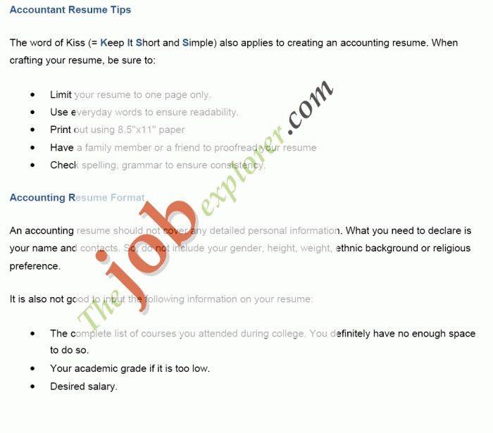 Write Resume Samples