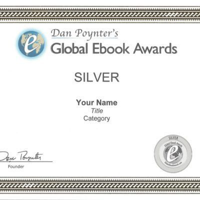 Gold Medal Winner Certificate | Dan Poynter's Global Ebook Awards