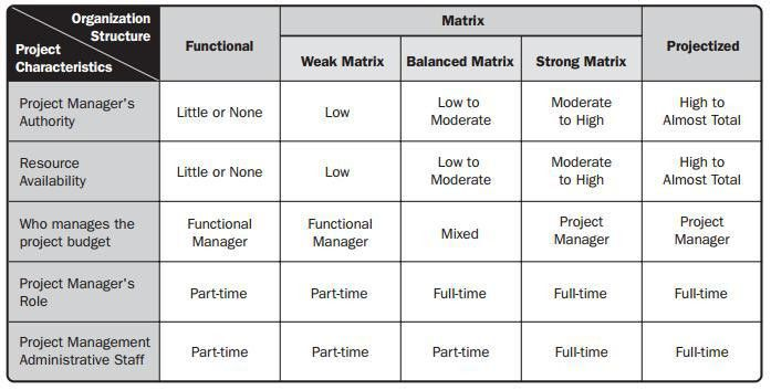 Organizational Structure Influence on Project Management Execution ...