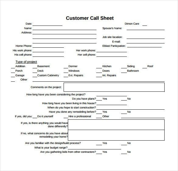Call Sheet Template Word Download A Free Call Sheet Template To – Call Sheet Template Word
