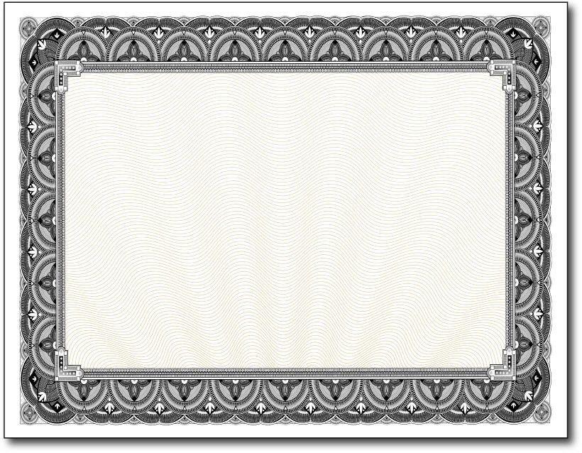 Blank Certificates | Certificate Paper | DesktopSupplies.com