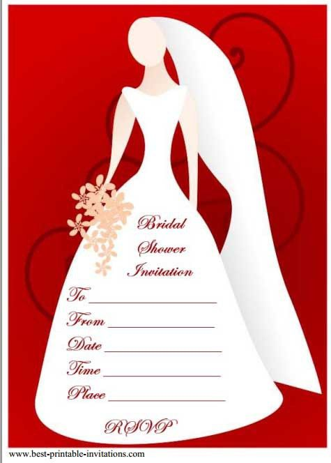 12 Mesmerizing Free bridal shower Flyer Templates - Demplates