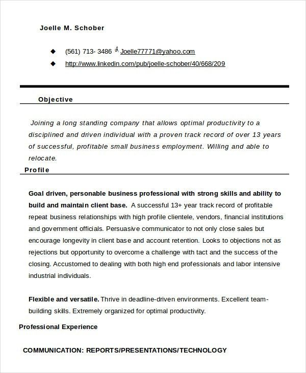 Functional Resume - 8+ Free Sample, Example, Format | Free ...