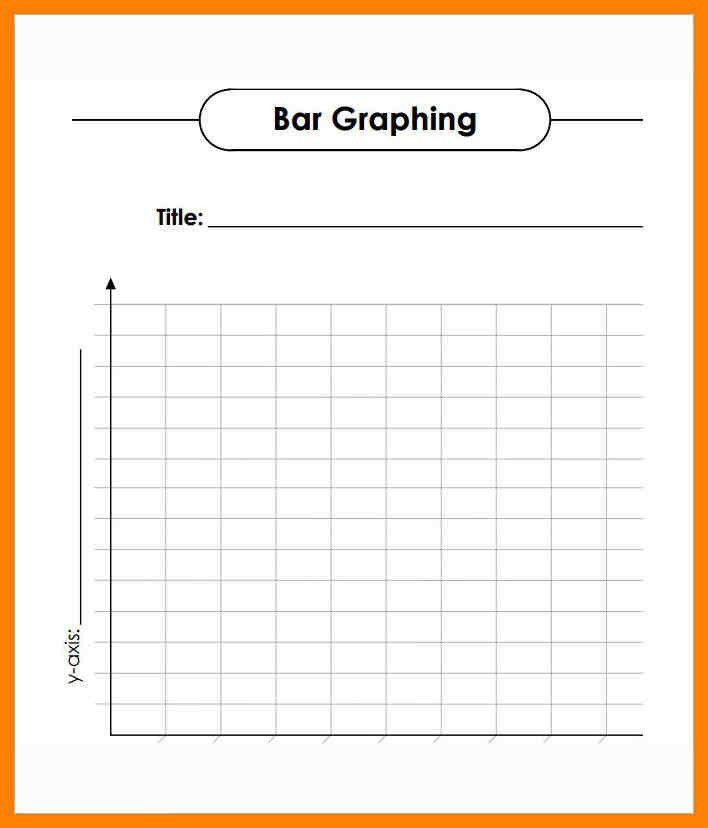 5+ blank bar graph template   intern resume
