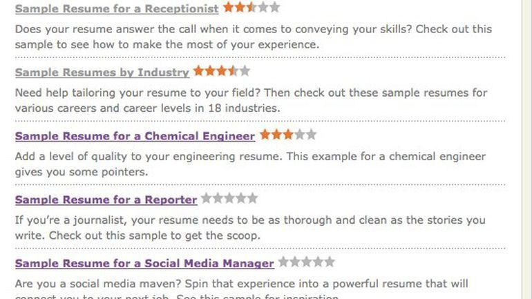 Get that job: Six online resume tools - CNET