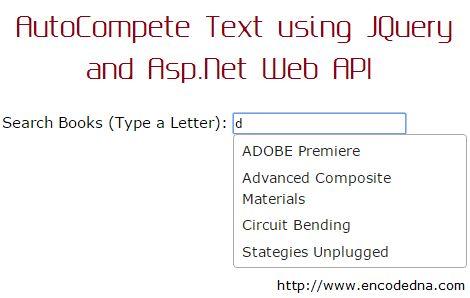 Asp.Net Web API Example – AutoComplete Textbox using jQuery Ajax ...