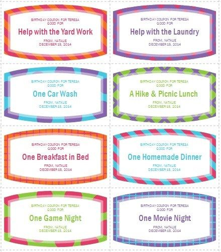 12 Free Sample Coupon Book Templates – Printable Samples