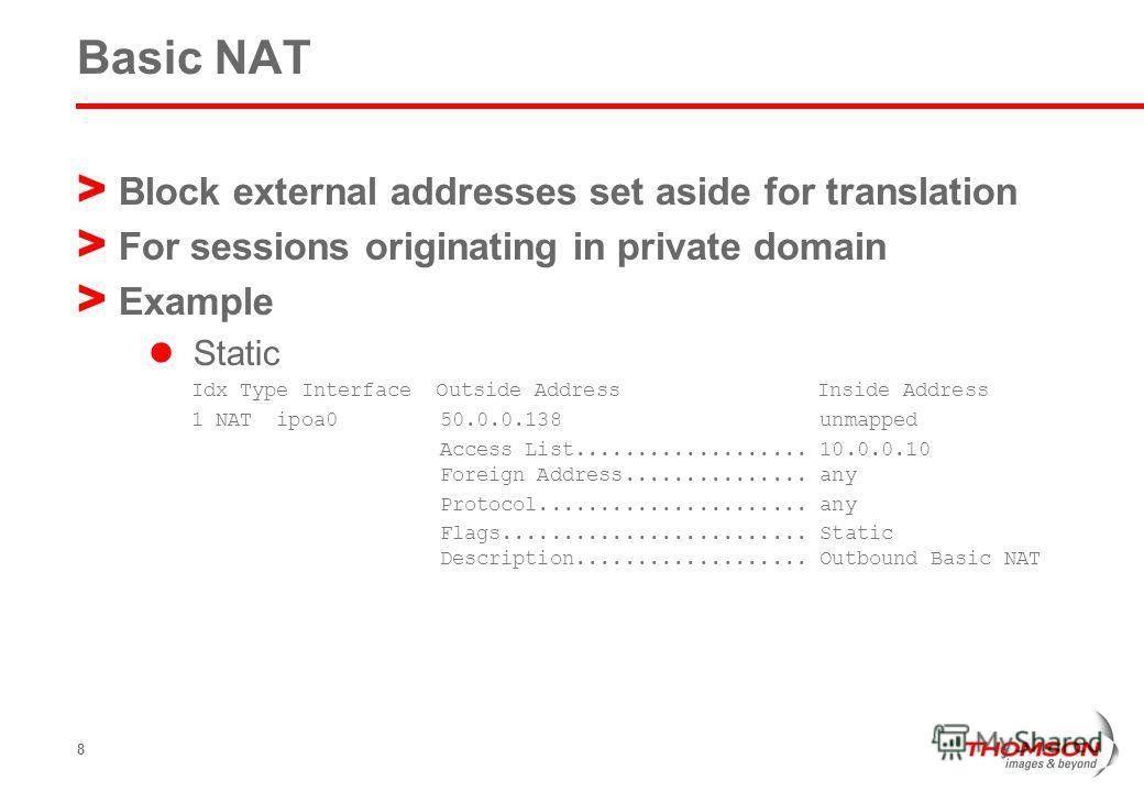 "Презентация на тему: ""Connectivity NA(P)T 3 Thomson Gateway NAT ..."