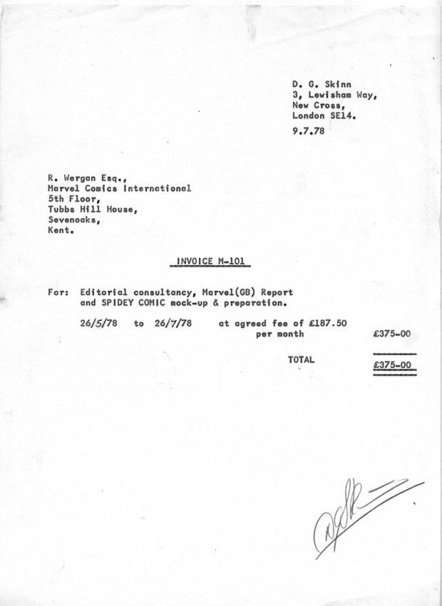Mock Invoice [Resume.characterworld.co ]