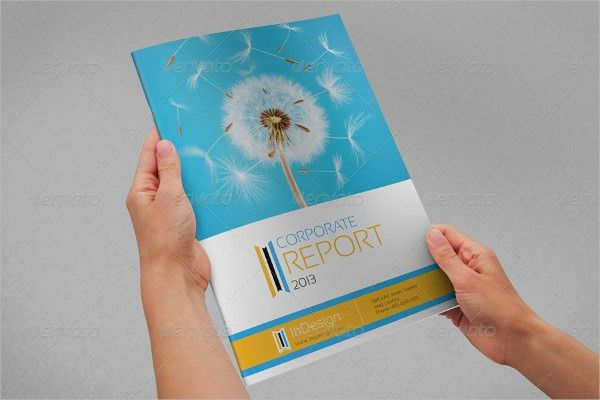 8+ Annual Report Brochure - Printable PSD, AI, InDesign, Vector ...