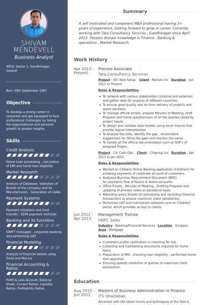 Process Associate Resume samples - VisualCV resume samples database