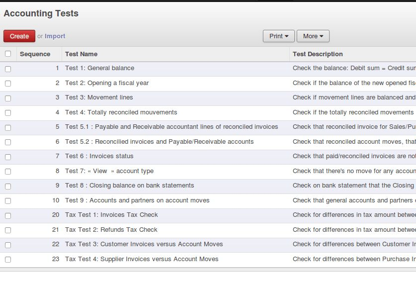 Accounting Invoice Tax Tests | Odoo Apps