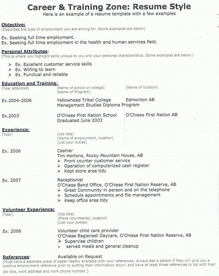 resume-example-8 - Resume Cv