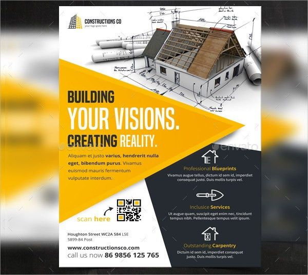 25+ Construction Flyer Templates - Free & Premium Download