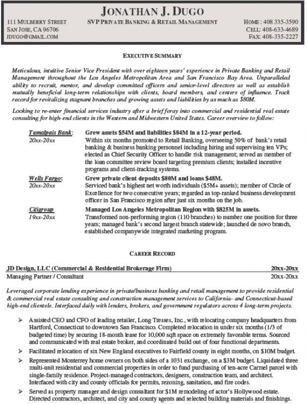 Retail Management Resume Examples – Resume Examples