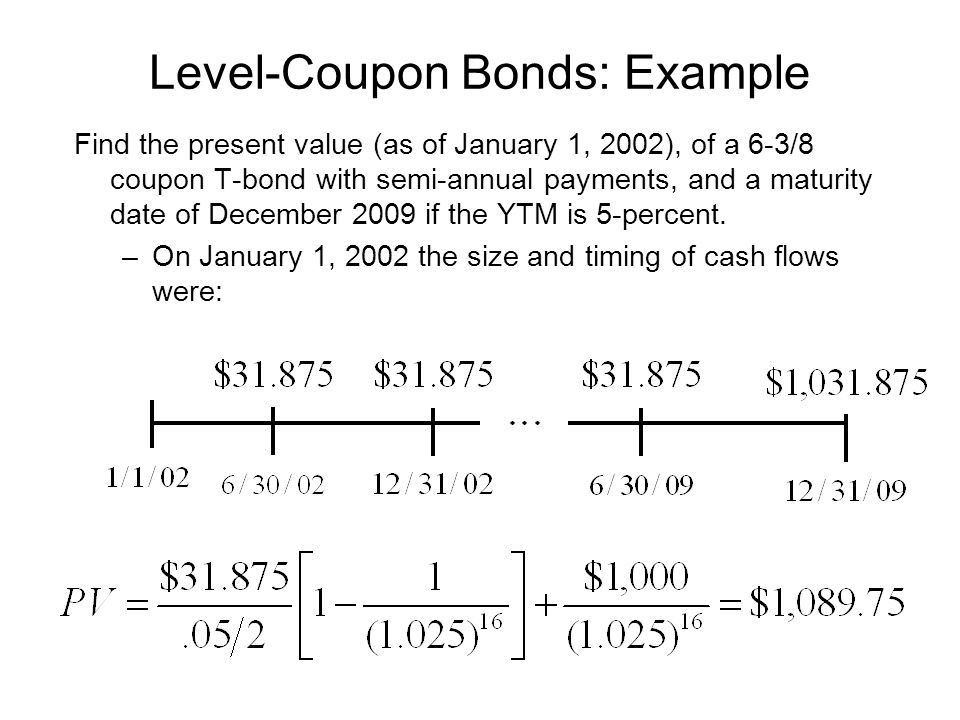 Bond Valuations 1. Definition and Example of a Bond 2.How to Value ...