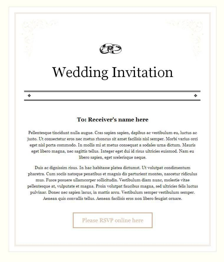 Fine Party Invitation Email Template Almost Luxury Article Happy ...