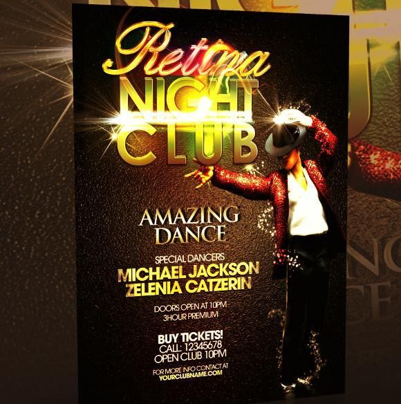 free PSD dance party flyer templates | Flyer Flyer Pants on Fire ...
