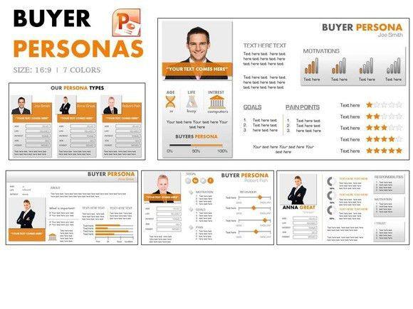 Persona Template Powerpoint - Metlic.info