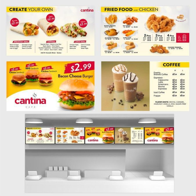 Top 25+ best Restaurant menu boards ideas on Pinterest | Cafe menu ...