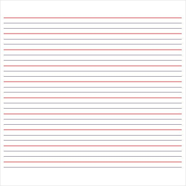 Best Photos of Editable Lined Paper Template - Printable Lined ...