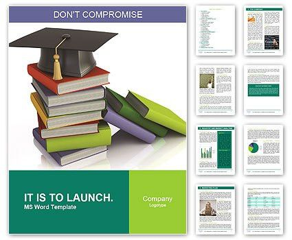 University Book Word Template & Design ID 0000005642 ...