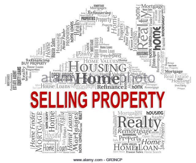 Selling Property Meaning Real Estate Stock Photos & Selling ...