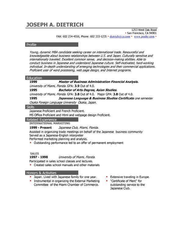 Microsoft Resume Builder, microsoft resume builder free download ...