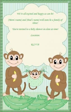 Baby Shower Invitations Templates Free Download | THERUNTIME.COM
