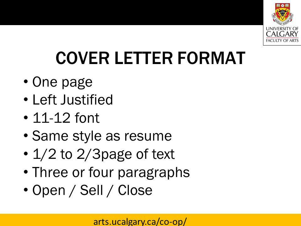 TARGETED COVER LETTERS - ppt download