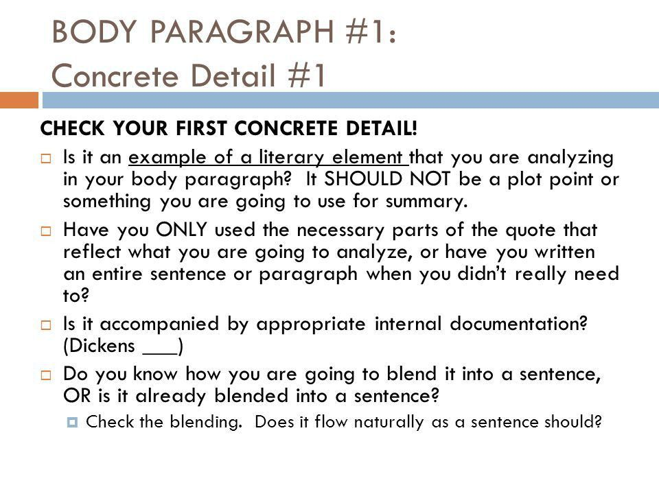 A TALE OF TWO CITIES IN-CLASS ANALYTICAL ESSAY Self-Check ...