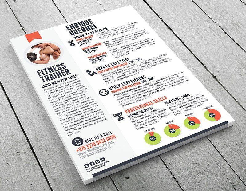 Fitness trainer curriculum vitae template