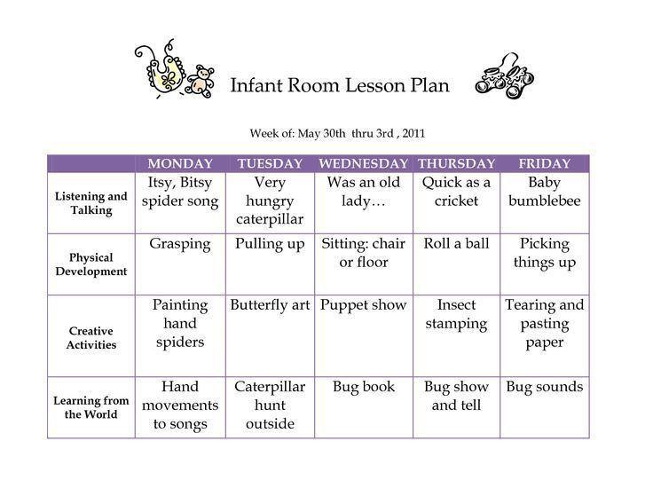 Best 25+ Infant lesson plans ideas on Pinterest | Daycare lesson ...