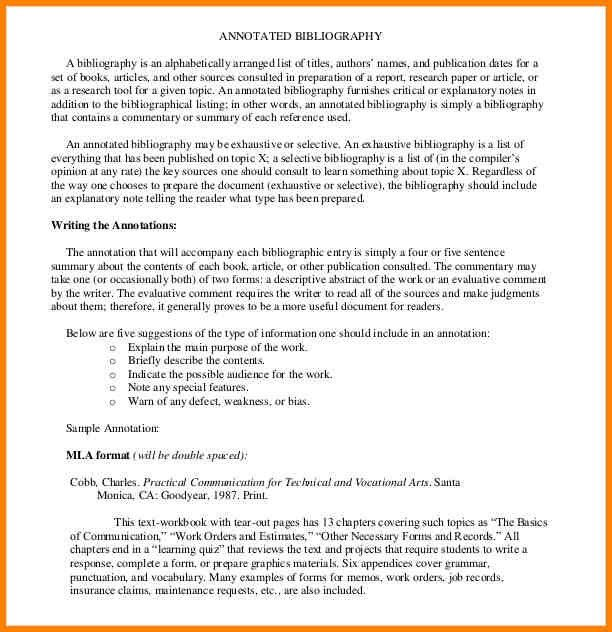 3+ apa format annotated bibliography generator | Annotated ...