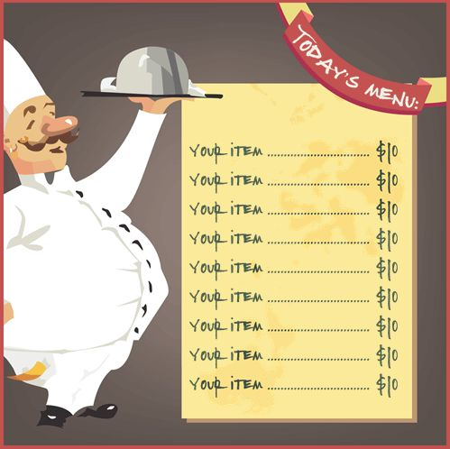 Restaurant Menu Template - 8 Free Restaurant Menus