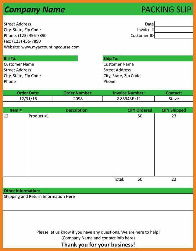 packing slip template | teller resume sample