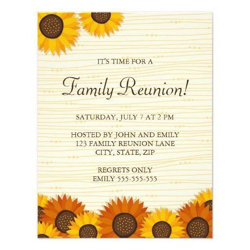 Most Popular Reunion Party Invitations | CustomInvitations4U.com