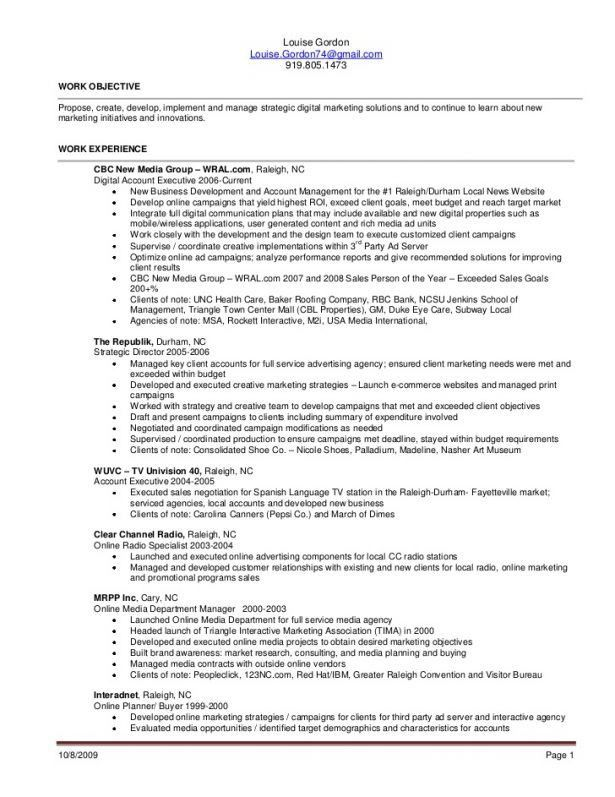 resume for sales associate retail. merchandise planner and buyer ...