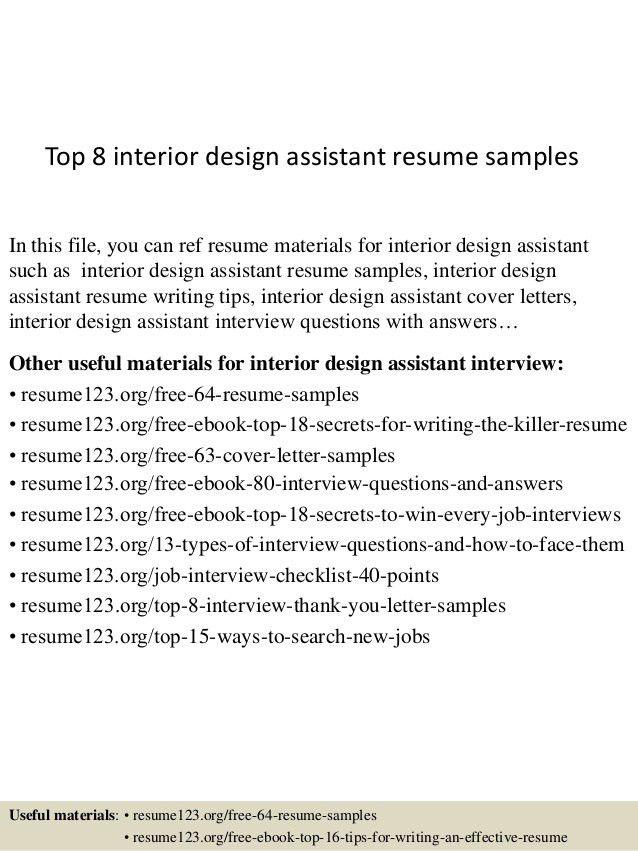 top-8-interior-design-assistant-resume-samples-1-638.jpg?cb=1430986689