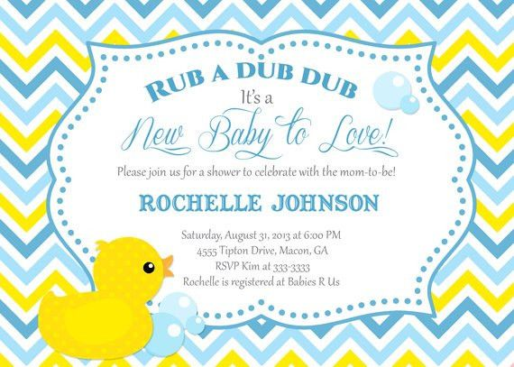 Baby Shower Invitations: Baby Shower Invites Templates for Word ...