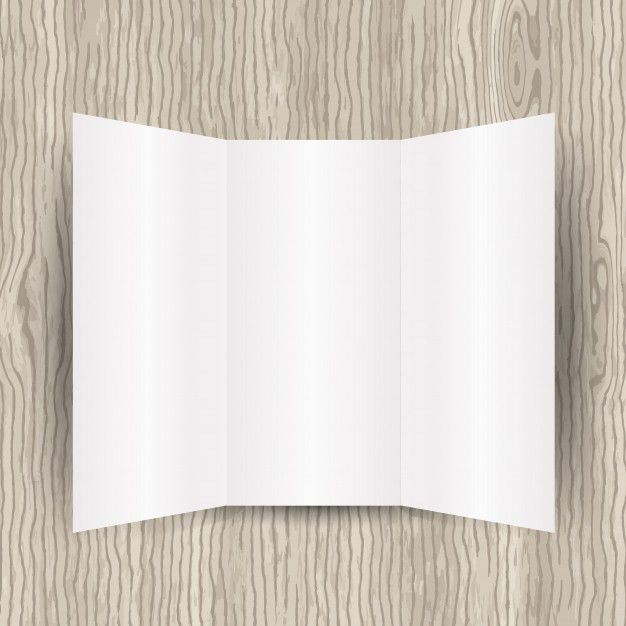 Blank brochure template Vector | Free Download