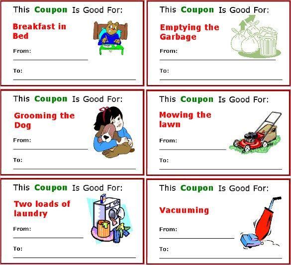 Coupon Design Templates Word Excel PDF Templates ...