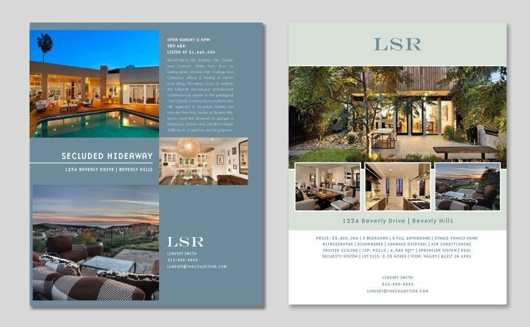 Real estate and MLS magazine Ads | Little Pixel Studio