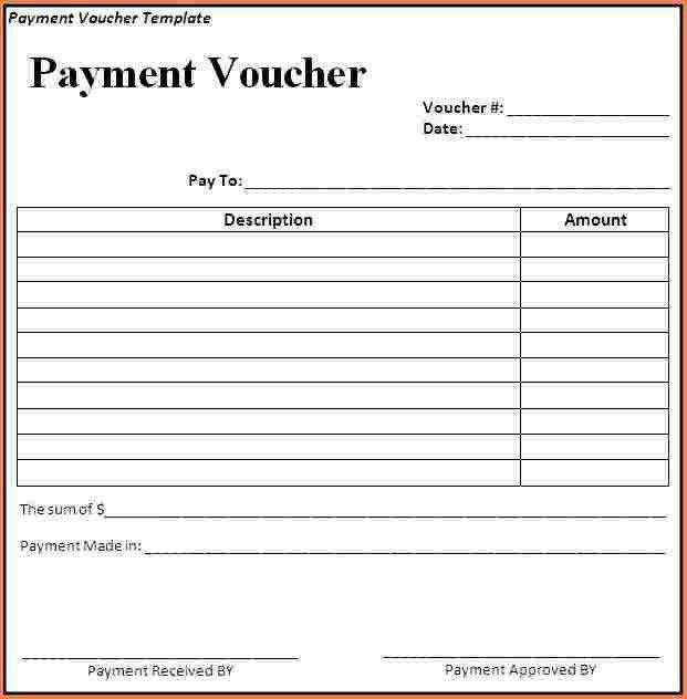 6+ cash payment voucher format in word | Sales Slip Template