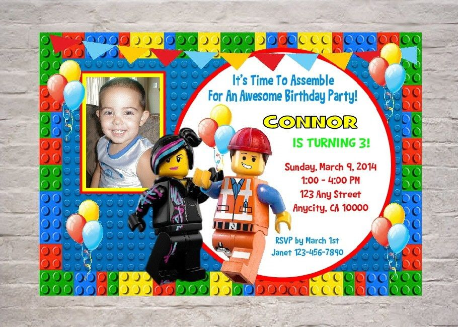Sample Birthday Invitations First Birthday Invitation Wording And - Lego birthday invitation template free