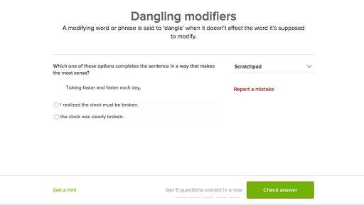 Dangling modifiers (video) | Khan Academy