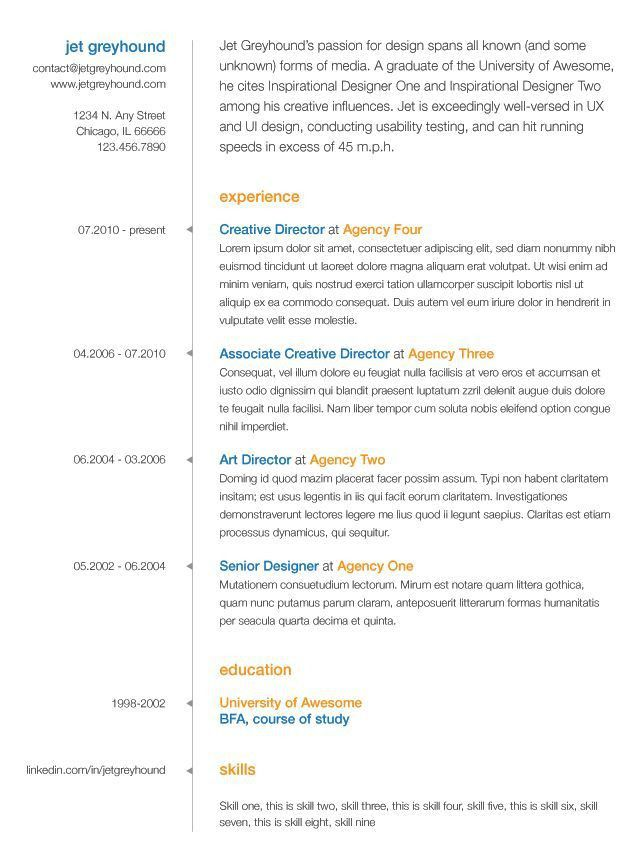 95 best Creative Resumes images on Pinterest | Creative resume ...