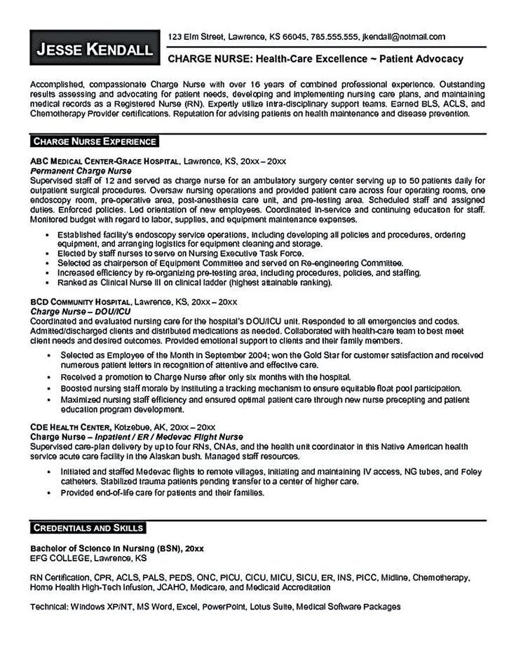 34 best resume time! images on Pinterest | Nursing resume, Rn ...