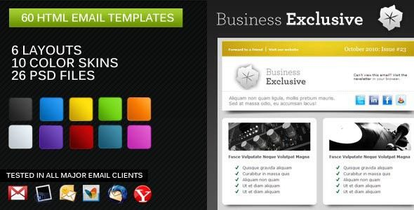 Best HTML Email Marketing Templates | Wakaboom