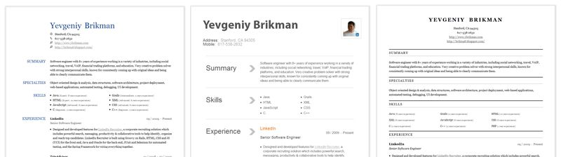 Resumes and Hackdays | Official LinkedIn Blog